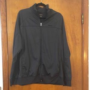 "Reebok"" Dark Gray Athletic Jacket"